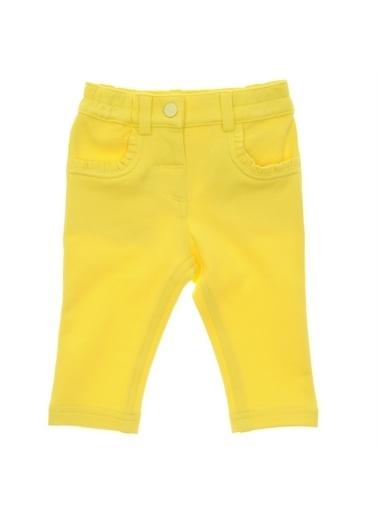 Panço Örme Pantolon 19121095100 Sarı